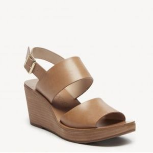 Leather Sole Society Wedges